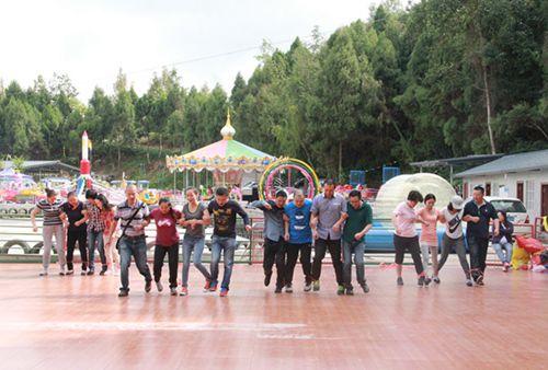 促进沟通 增进友谊  公司工会举行第一届趣味运动会